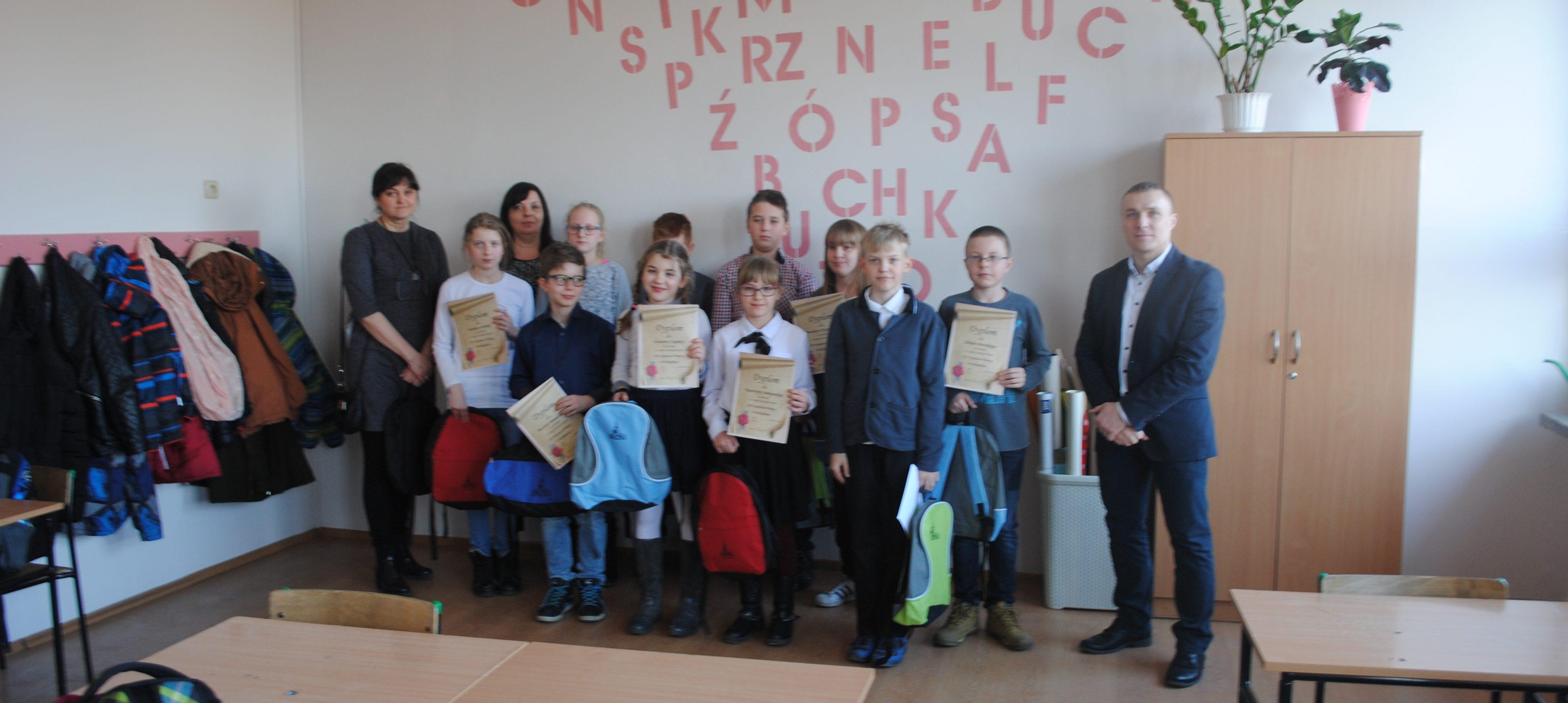 Sukces uczniów Szkoły Podstawowej w Opalenicy w zmaganiach powiatowych XXI Konkursu Wiedzy o Wielkopolsce