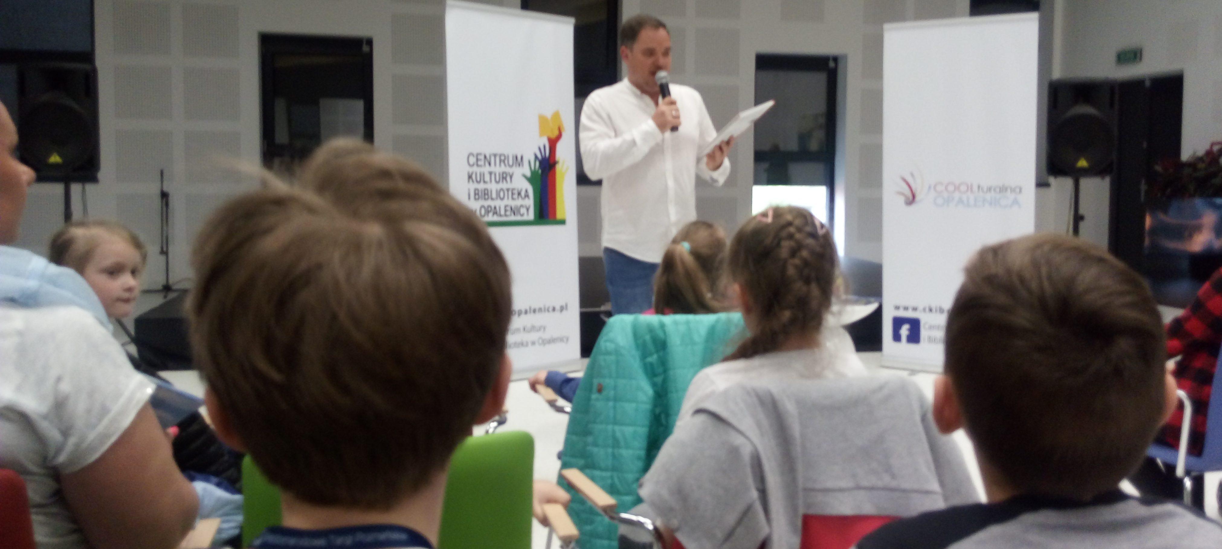 Spotkania ze współczesnym pisarzem Grzegorzem Kasdepke