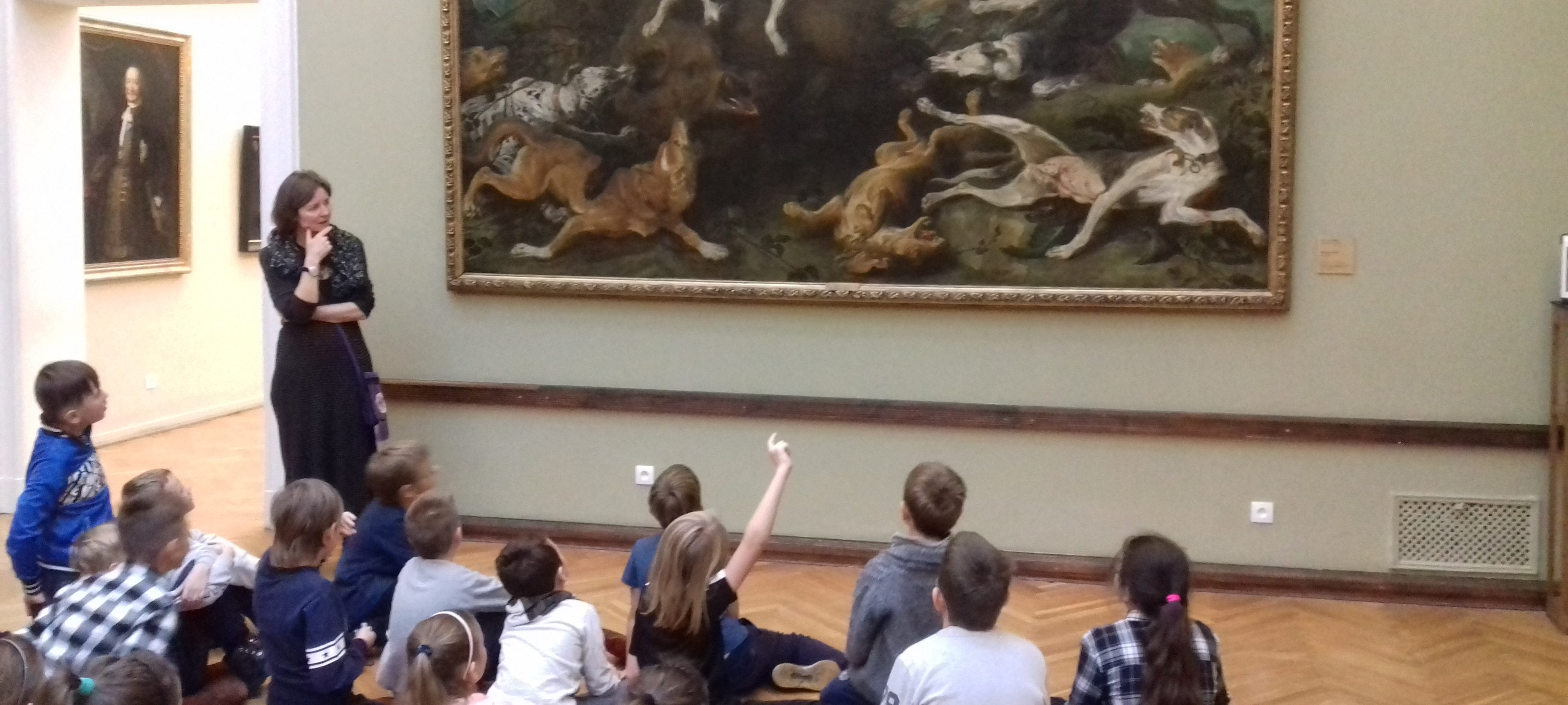Zwierzęta w sztuce czyli 3f i 3g w Muzeum Narodowym w Poznaniu