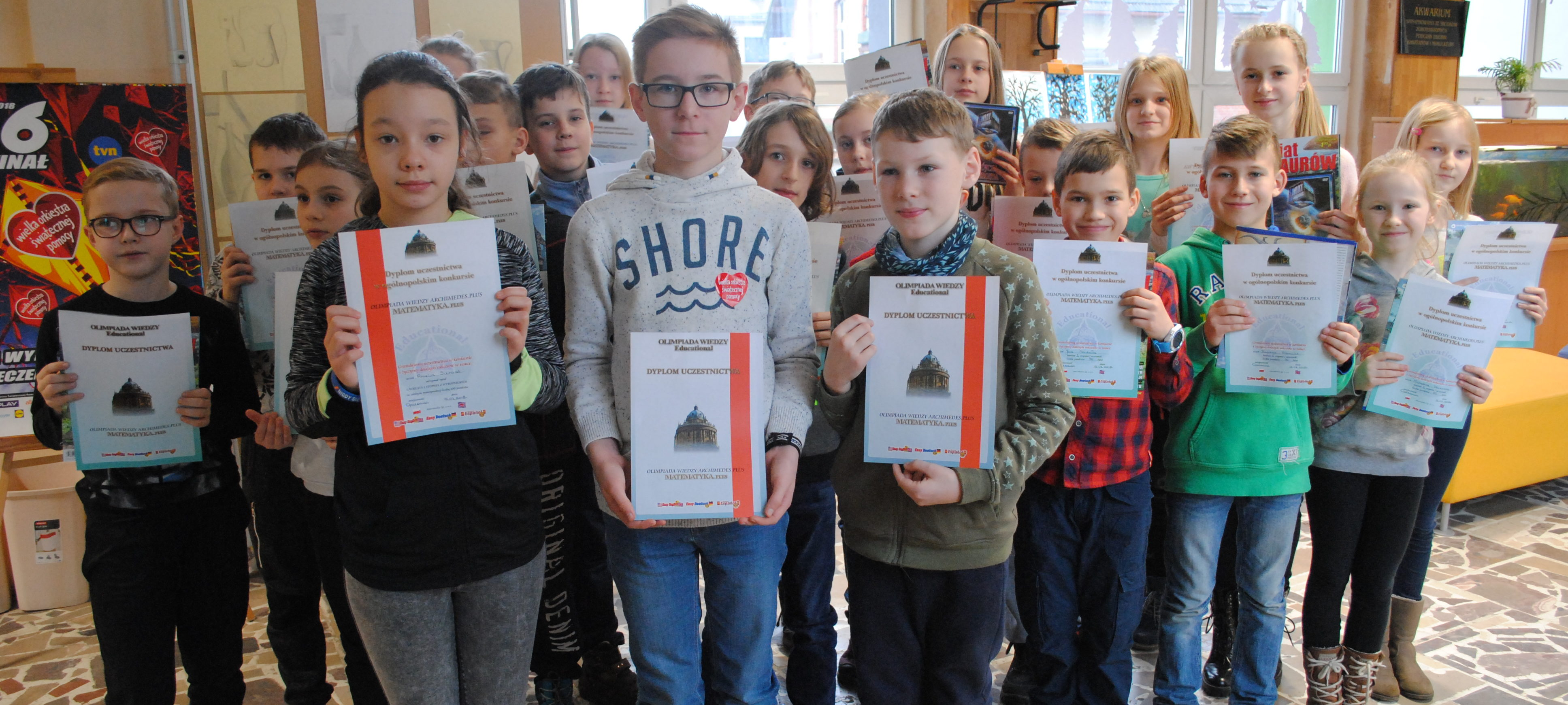 Laureaci konkursu matematycznego Archimedes Plus