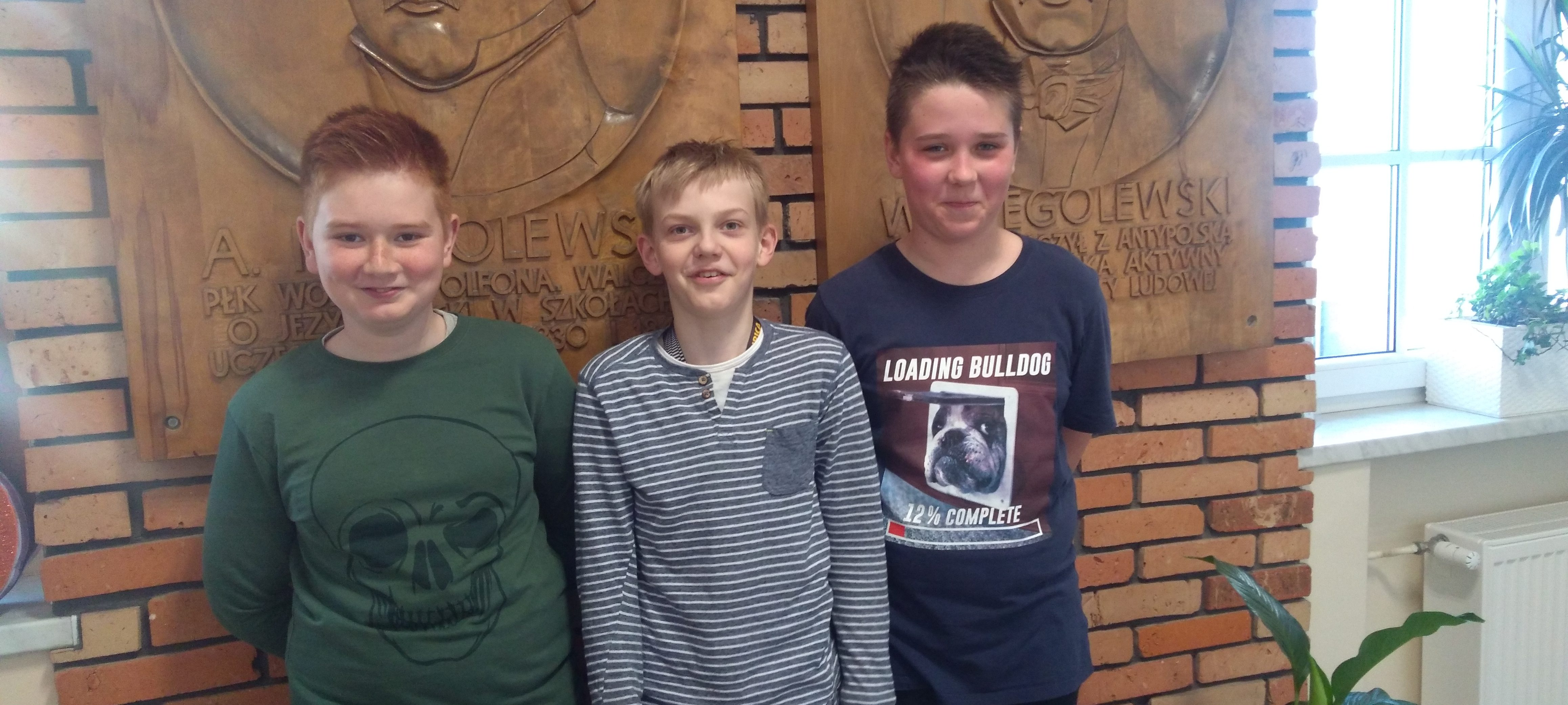 Awans trzech uczniów naszej szkoły do finału wojewódzkiego XXII Konkursu Wiedzy o Wielkopolsce