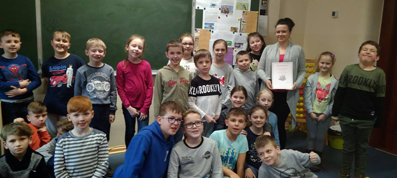 Rodzice czytają dzieciom – P. Magdalena Ratajczak w klasie 3F
