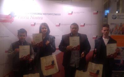 Gala Finałowa III edycji Konkursu Historycznego Patria Nostra