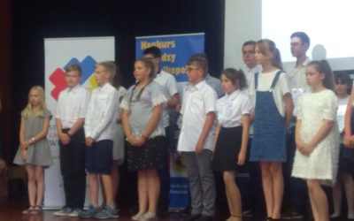 Laureat INEA XXII Konkursu Wiedzy o Wielkopolsce – Ksawery Kotwica odebrał nagrodę podczas uroczystej gali w Koziegłowach