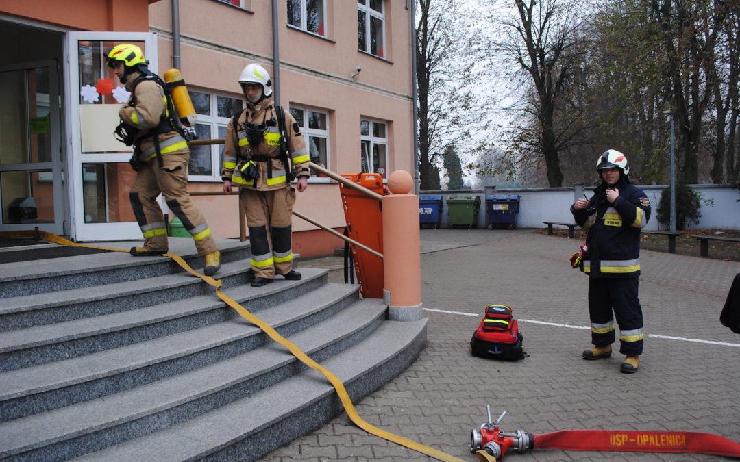 Próbny alarm przeciwpożarowy