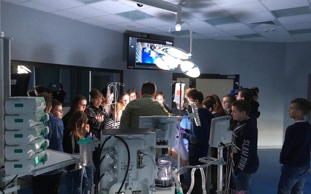 Warsztaty w Centrum Symulacji Medycznej