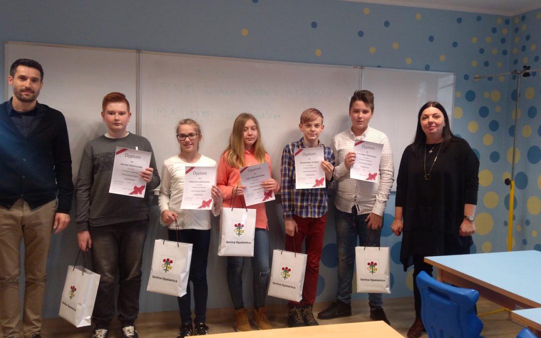 Zmagania powiatowe XXIII Konkursu Wiedzy o Wielkopolsce