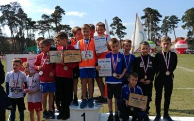 Sukcesy naszych uczniów w drużynowych Mistrzostwach Województwa w Biegach Przełajowych