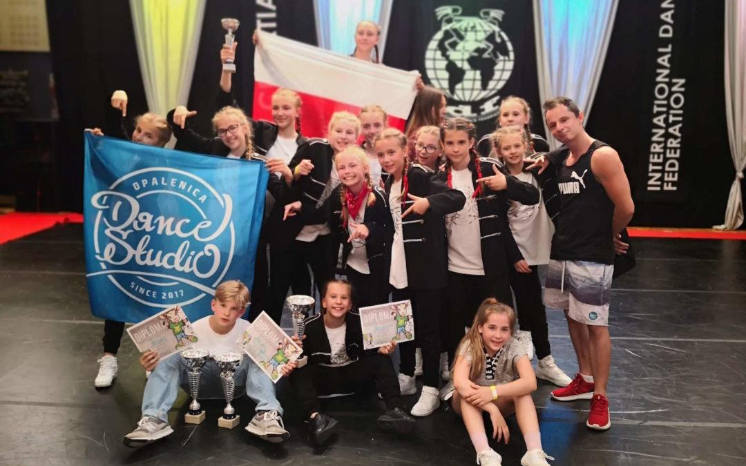 Sukcesy Klubu Sportowego Opalenica Dance Studio podczas Mistrzostw Świata w Tańcu Sportowym