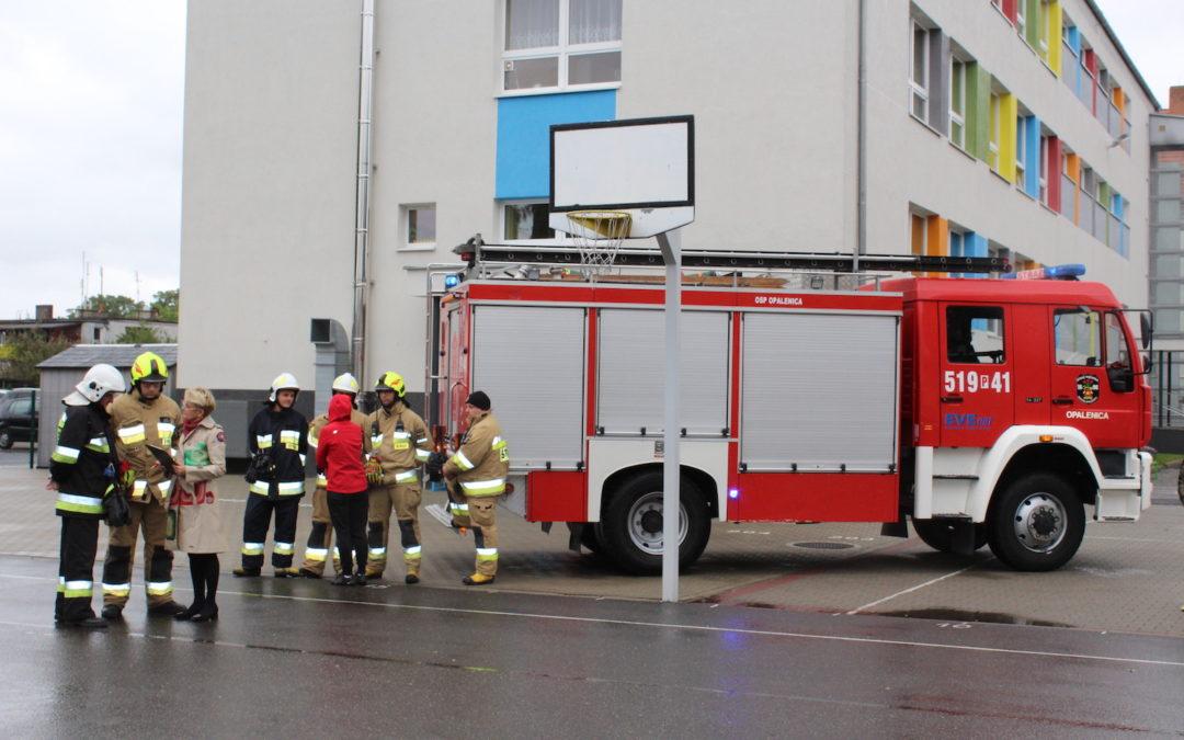 To tylko ćwiczenia – alarm przeciwpożarowy