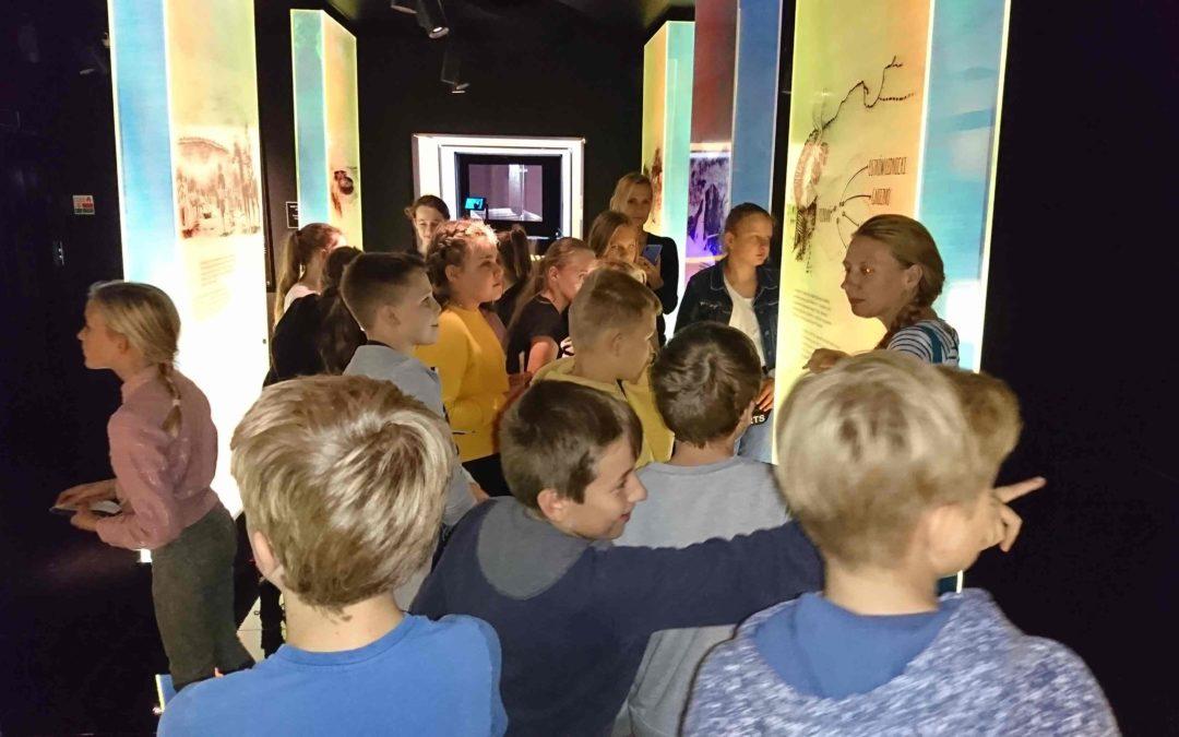 Wycieczka klasy 6c do Muzeum Archeologicznego oraz Interaktywnego Centrum Historii Ostrowa Tumskiego w Poznaniu