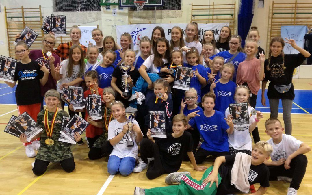 Kolejne sukcesy Opalenica Dance Studio na Mistrzostwach Ursynowa