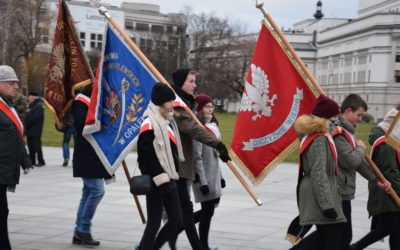 Tradycyjnie i patriotycznie w Warszawie