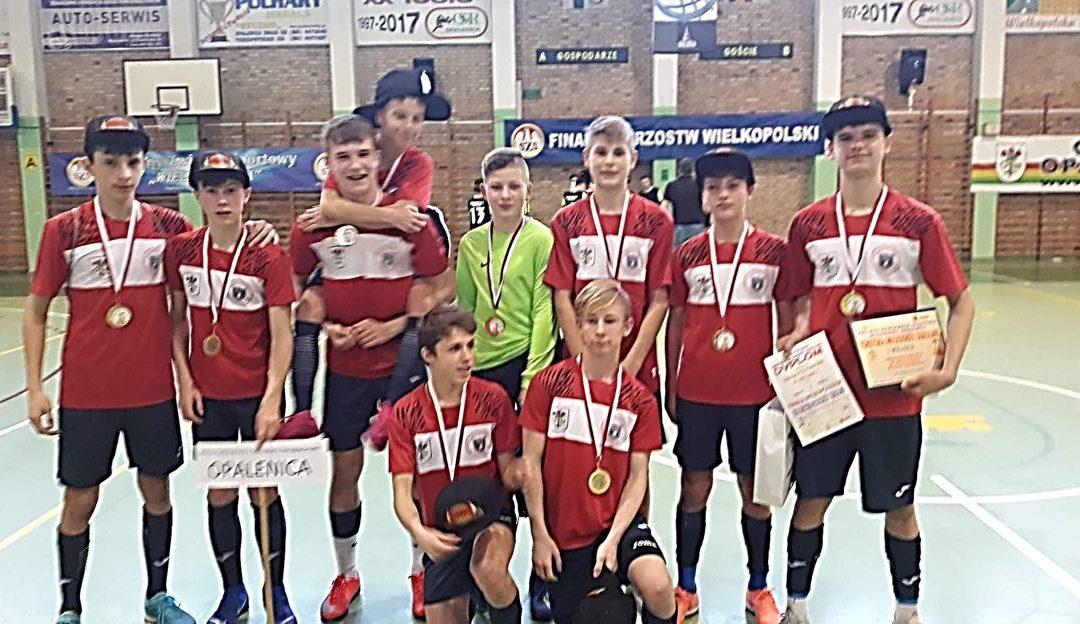 Mistrzostwa województwa w halowej piłce nożnej kl. 7-8 – Opalenica – 20.02.2020