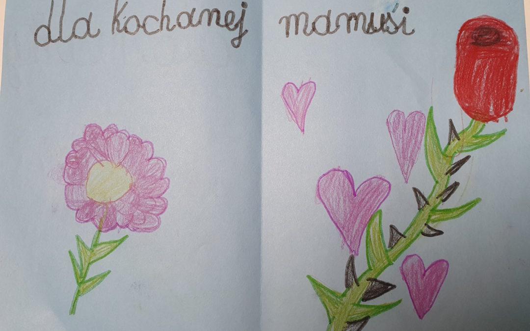 Dziękuję Ci Mamo :-) Dzieciaki z naszej szkoły w dowód wdzięczności i miłości przygotowały niespodziankę dla kochających Mam!