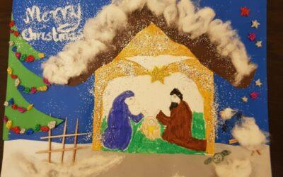 Konkurs na Najpiękniejszą Kartkę Bożonarodzeniową w Języku Obcym