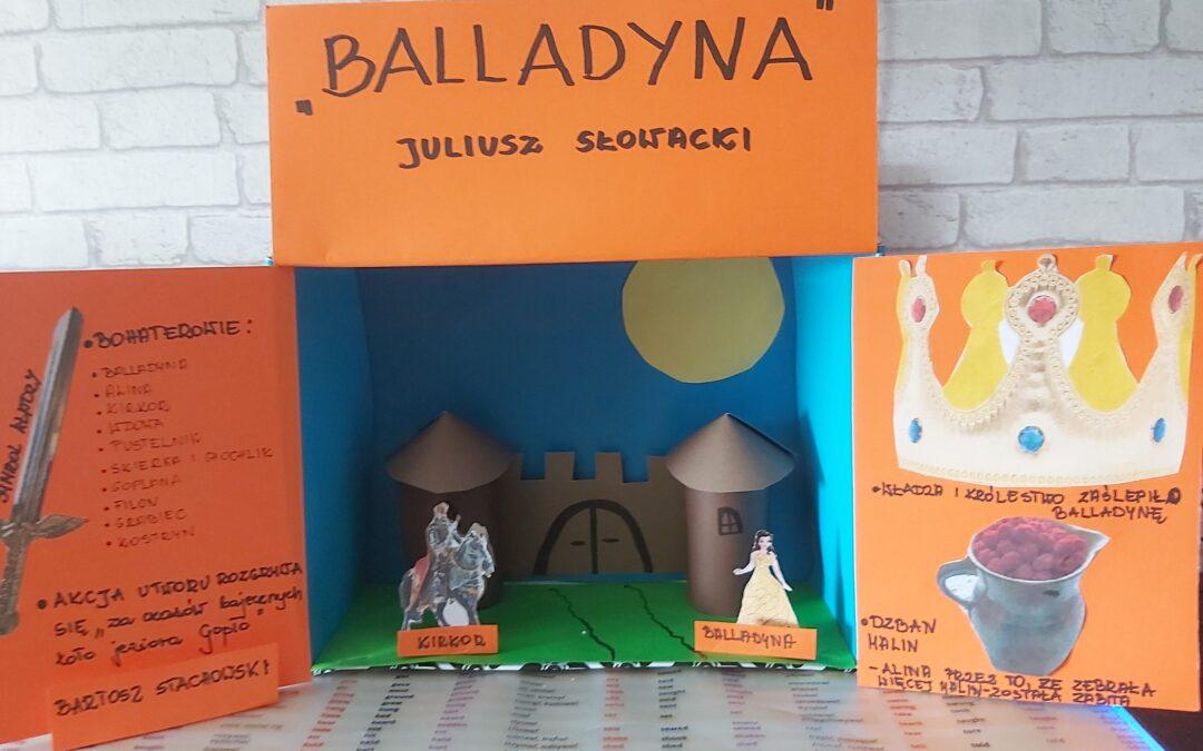 """,,Balladyna"""" Juliusza Słowackiego w pudełku"""