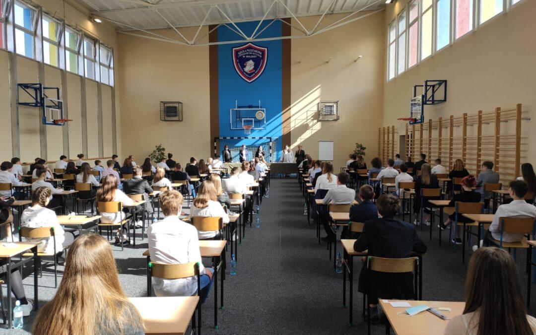 Egzamin ósmoklasisty już za nami…