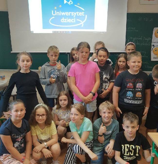 Fundacja Uniwersytet Dzieci – podsumowanie