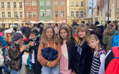 Wycieczka klas 5e i 5f do Poznania